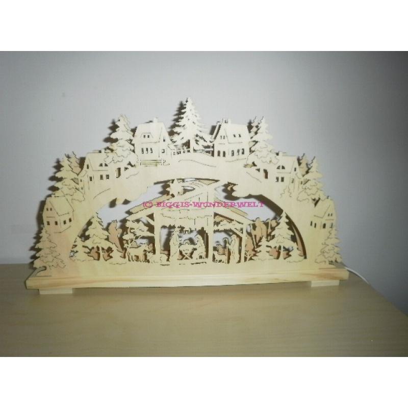 Weihnachtsdeko Aus Holz Mit Beleuchtung ~ Stück auf Lager ArtikelNr  10001669 Lieferzeit  2  5 Werktage