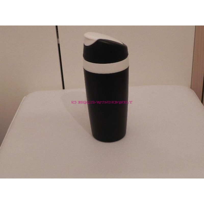 Tupperware coffee to go becher schwarz