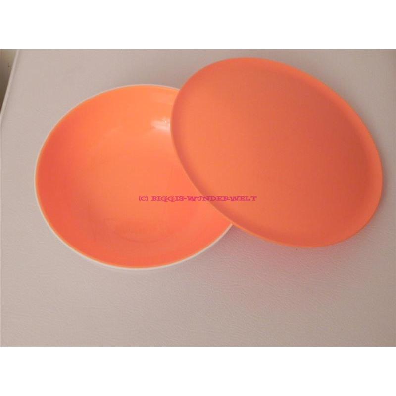 Allegra 740 ml orange / weiß