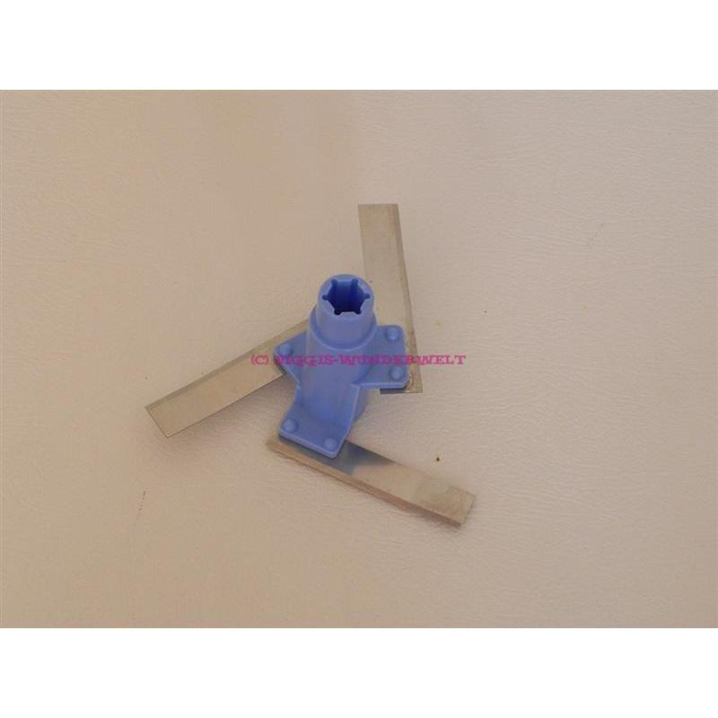 Schneideinsatz - Quick Chef 3 - blau
