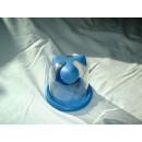 Tupperware Oceano Zahnputzbecher mit Ablage - blau - Vorführware