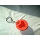 Tupperware Schlüsselanhänger - Silikon Herz