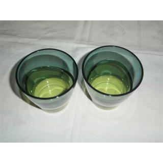 Tupperware Eleganzia Becher - grün - 2er Set
