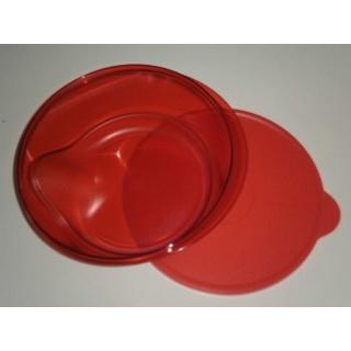 Tupperware Servier Serie 2 Liter - Leuchtturm - rot