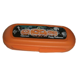 Tupperware Halloween Box - orange