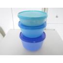 Tupperware Schüsselsatz Clarissa 3er Set - blau /...