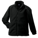 James Nicholson Kinder Full-Zip Fleece Jacke - L / black...