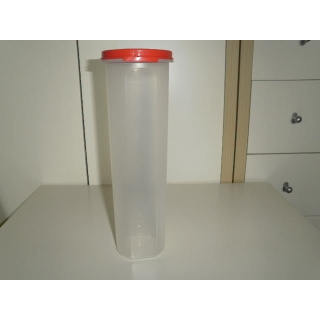 Tupperware Solo Runde 1,1 liter - rot