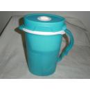 Tupperware Eco Wasserfilter Kanne 2,1 Liter - grün