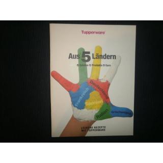 Tupperware Rezepthefte - verschiedene