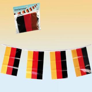 Girlande Deutschlandflaggen - 5 Meter