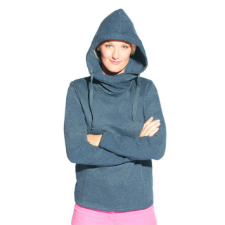 Promodoro Women´s Heather Hoody 60/40 (E2112)