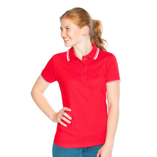 Promodoro Women´s Polo Contrast Stripes (E4910)