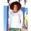 Fruit of the Loom Lady-Fit Long Sleeve Crew Neck T (F277N)