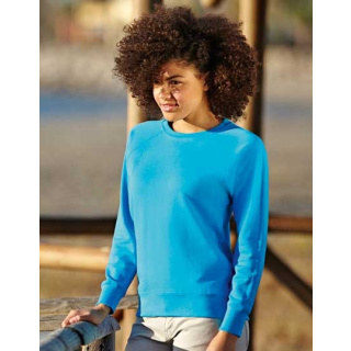 Fruit of the Loom Lady-Fit Lightweight Raglan Sweat (F315)