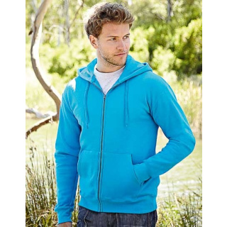 Fruit of the Loom New Hooded Sweat Jacket (F401N)