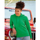 Fruit of the Loom Lady-Fit Hooded Sweat (F409)