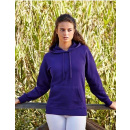 Fruit of the Loom Lady-Fit Lightweight Hooded Sweat (F435)