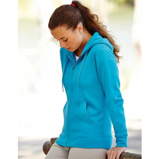 Fruit of the Loom Lady-Fit Hooded Sweat Jacket (F440N)