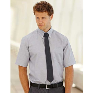 Fruit of the Loom Men´s Short Sleeve Oxford Shirt (F601)