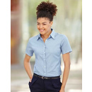 Fruit of the Loom Lady-Fit Short Sleeve Oxford Blouse (F701)