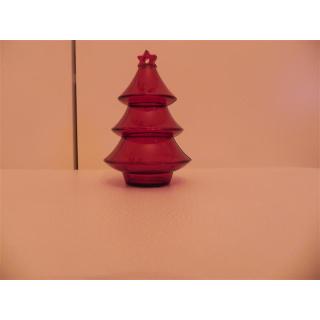 Tupperware Geschenkbox Weihnachtsbaum - rot