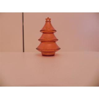 Tupperware Geschenkbox Weihnachtsbaum - orange