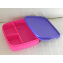 Tupperware Brotbox - Clevere Pause - pink / lila