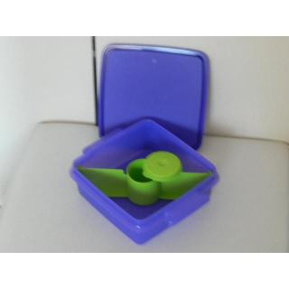 Tupperware Brotbox mit Unterteilung -  lila