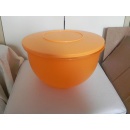 Tupperware Junge Welle Schüssel 7,5 Liter - orange
