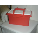 Tupperware Multi Kit mit Tragegriff 6 Liter - rot