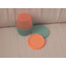 Tupperware Rumpelstilzchen Duo - orange / grün