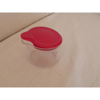 Tupperware TupperTime Behälter - rot - Sahne oder Zucker