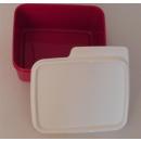 Tupperware Frische Box - Weihnachts Ecke 500 ml  - rot /...