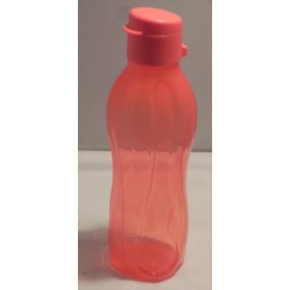 Tupperware Trinkflasche EcoEasy 500 ml mit Flip Top - rot