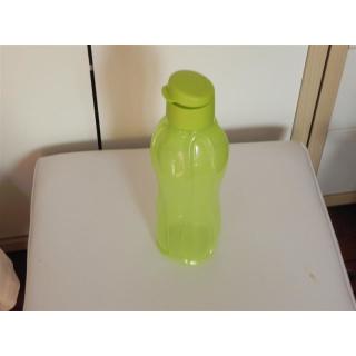 Tupperware Trinkflasche EcoEasy 1 Liter mit Flip Top - grün