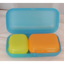Tupperware Maxi Twin Set 3 er Set - blau