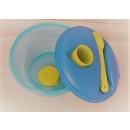Tupperware Salat & Go - blau