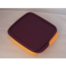 Tupperware Brotbox - Clevere Pause - orange / lila