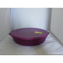Tupperware CrystalWave MicroTup Menüteller - lila