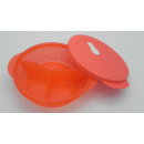 Tupperware  MicroTup Menüteller - 900 ml - rot