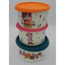 Tupperware Mickey & Minni Set (3) - Keksdosen