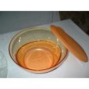 Tupperware Eleganzia Schüssel 4,6 Liter - gelb